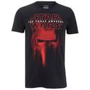Star Wars Kylo Ren Mask Herren T-Shirt - Schwarz