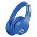adidas Originals by Monster Headphones (3-Button Control Talk & Passive Noise Cancellation) - Blue