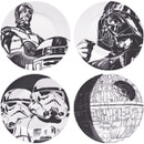 Star Wars Plates in Gift Box (Set of 4)