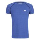Myprotein 男子运动表现插肩袖 T 恤 - 蓝色