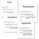 Word Up Vocabulary Flashcards Set