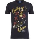 DC Bombshells Men's Harley Quinn T-Shirt - Black