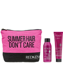 Redken Colour Extend Shampoo and Conditioner with Wash Bag (Free Gift)