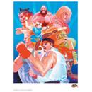 Street Fighter 'Hadouken' Art Print - 14 x 11