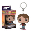 Back to the Future Marty on Hoverboard Pocket Pop! Keychain