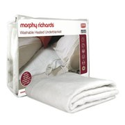 Morphy Richards 75184 Heated Blanket - White - Double
