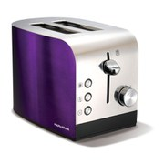 Morphy Richards Accents 2 slice Polished Toaster - Plum