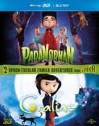 ParaNorman / Coraline (enthält 3D Blu-Ray und 2D Blu-Ray)