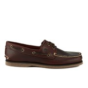 Timberland Men's Classic 2-Eye Boat Shoes - Rootbeer Smooth