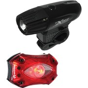 Moon XP330 Front & Shield Rear Set USB Light Set