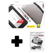 Nintendo 3DS XL Silver (Black Interior)