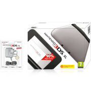Nintendo 3DS XL Silver (Black Interior)