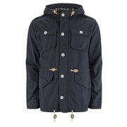 Brave Soul Men's Puzzle Jacket - Navy Blue