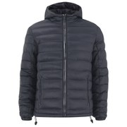 Brave Soul Men's Russ Puffa Jacket - Navy