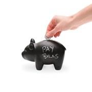 Capitalist Pig Chalk Board Piggy Bank