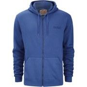 Salvage Men's FZ Hooded Sweatshirt - Deep Blue