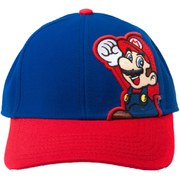 Mario - Adjustable Cap (Red/Blue)