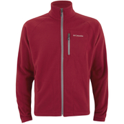 Columbia Men's Fask Trek II Full Zip Fleece - Rocket
