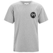 Soulland Men's Ribbon Printed T-Shirt - Grey Melange
