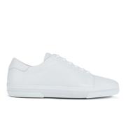 A.P.C. Men's Jaden Leather Tennis Shoes - White