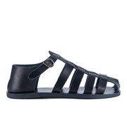 Ancient Greek Sandals Men's Homer Leather Gladiator Sandals - All Marine