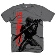 Metal Gear Solid Men's T-Shirt - Rising Raiden - Grey