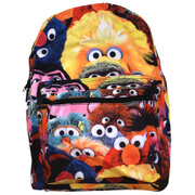 Sesame Street Characters Design Backpack