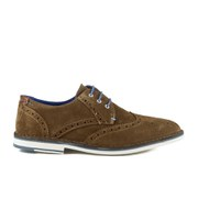 Ted Baker Men's Jamfro 5 Suede Brogues - Dark Tan