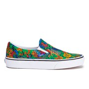 Vans Women's Classic Slip-On Liberty Trainers - Multi Floral/True White