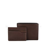 BOSS Orange Roxas  Wallet Gift Set - Mid Brown