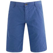 BOSS Orange Men's Regular Fit Schino Shorts - Electric Blue