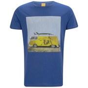 BOSS Orange Men's Tavey Crew Neck T-Shirt - Electric Blue