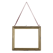 Nkuku Kariba Antique Brass Frame - Antique Brass - Landscape 8 x 10""