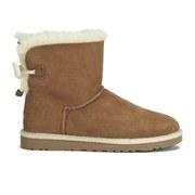 UGG Australia Women's Selene Mini Sheepskin Boots - Chestnut