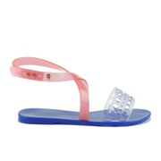 Melissa Women's Tasty Flat Sandals - Clear/Pink