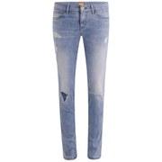 BOSS Orange Women's Loveina Rip and Repair Jeans - Acid Wash