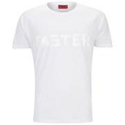 HUGO Men's Daster Short Sleeve T-Shirt - White