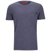 HUGO Men's Dianco Chest Pocket T-Shirt - Navy