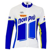 Pella Novi Long Sleeve Jersey - Blue/White