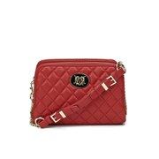 Love Moschino Women's Quilted Cross Body Bag - Red