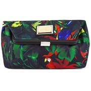 Love Moschino Women's Jungle Print Clutch Bag - White