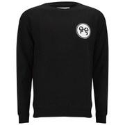 Soulland Men's Rainbow Print Sweatshirt - Black/White