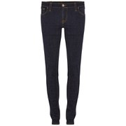Nudie Jeans Women's Tight Long John 'Super-Tight/Low-Waist' Jeans - Twill Rinsed