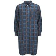 A.P.C. Women's Compass Robe Shirt Dress - Dark Blue