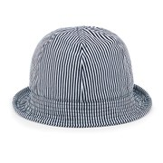 A.P.C. Women's Sophie Bucket Hat - Duck Blue Stripe