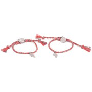 Venessa Arizaga Women's Made For Each Other Bracelet Set - Flame Orange