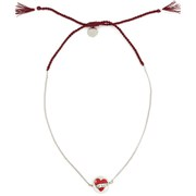 Venessa Arizaga Women's On the Road Necklace Te Amo - Burgundy