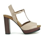 See by Chloe Women's Leather Heeled Sandals - Neutral