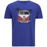 Salvage Men's Graphic Crew Neck T-Shirt - Amporo Blue