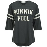 Wildfox Women's Jersey 'Runnin' Fool' Tunic - Vintage Black